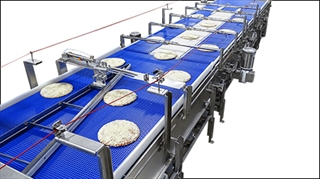 Conveyor with Pizza