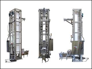 Conveyor Elevators | Vertical Lift Conveyors | Nercon Conveyors