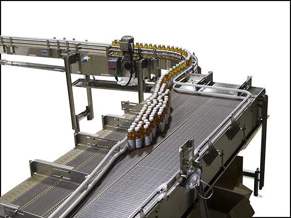 Pressureless Combiner Conveyor
