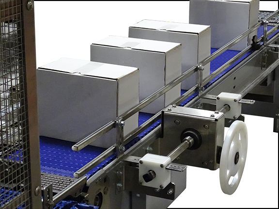 Adjustable Guide Rails | Conveyor Changeover | Rapid-Rail® by Nercon