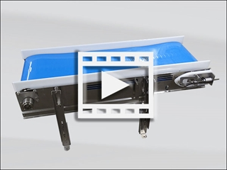 Sanitary Flat Belt Conveyor Video