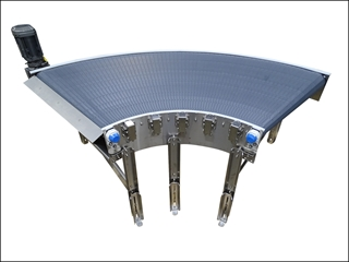 MatTop Conveyors handle packages of many types and sizes.