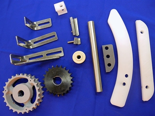 Conveyor and packaging equipment parts